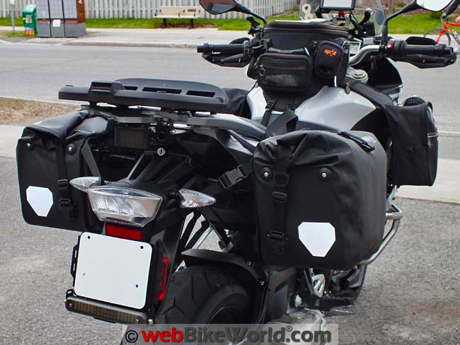 Touratech Moto Saddle Bags Rear View