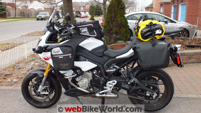 Touratech Moto Saddlebags Side View