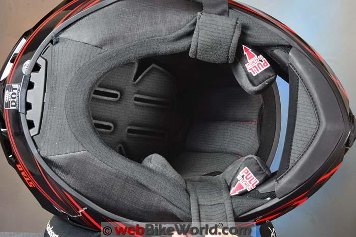 2016 Bell Star Helmet Liner