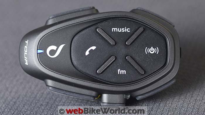 Interphone Tour Intercom Buttons Close-up