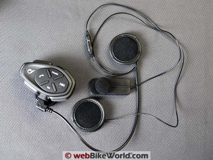 Interphone Tour Motorcycle Intercom Headset