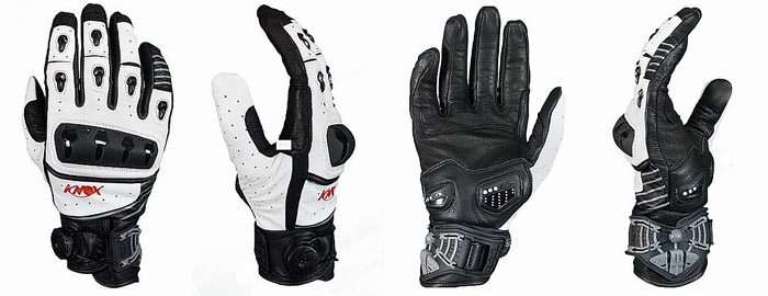 Knox Orsa Gloves Front and Rear Views