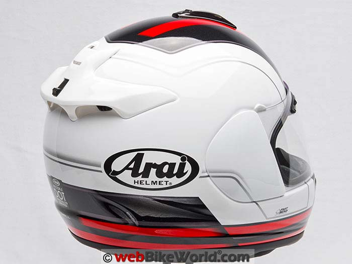 Arai Vector 2 Rear Quarter View