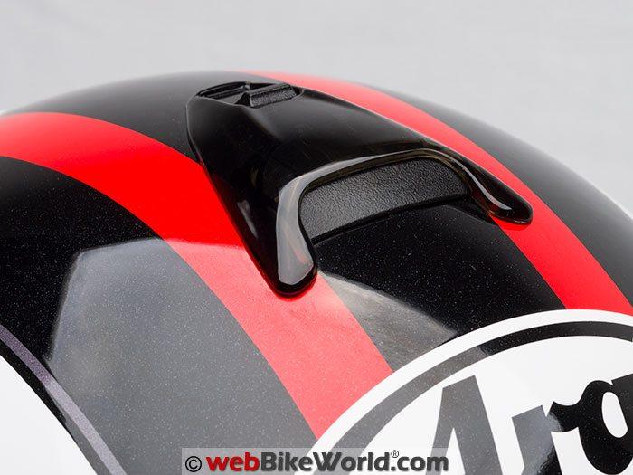 Arai Vector 2 Helmet Top Vent Closed