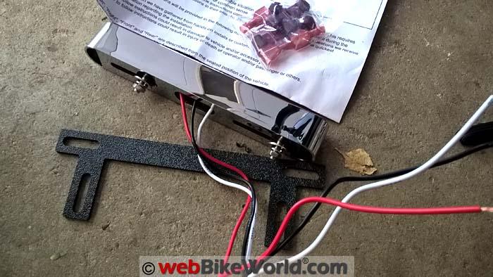 Electrical Connection Brake Light Bar Kit