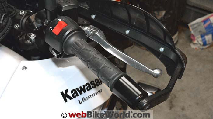 Kawasaki Versys 650 LT Throttle