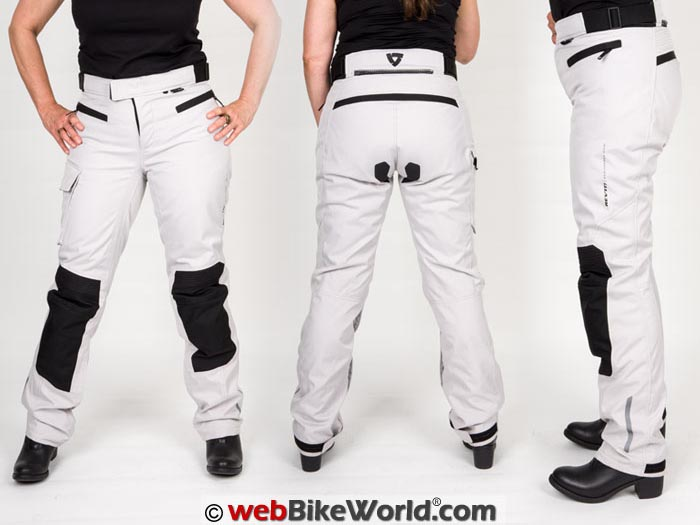 REV'IT! Enterprise 2 Pants Womens Three Views