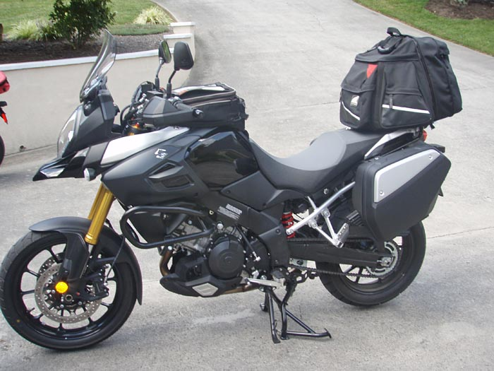 Suzuki DL1000 Touring Left Side