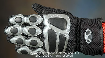 Fieldsheer Sonic Mesh Gloves - Top View