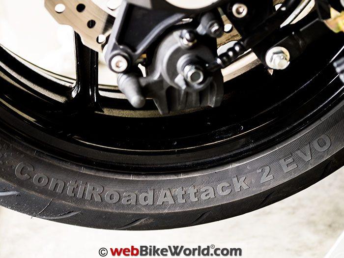 Continental Road Attack 2 EVO Tire Logo