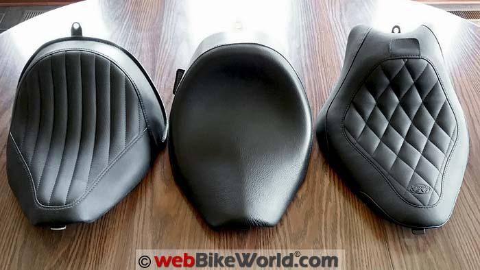 Harley-Davidson Seat Comparison