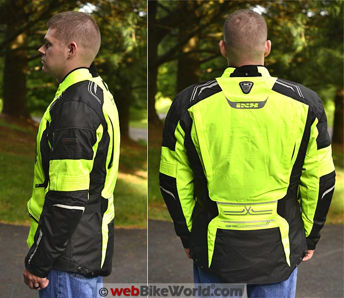 iXS Criton Jacket Front and Rear Views