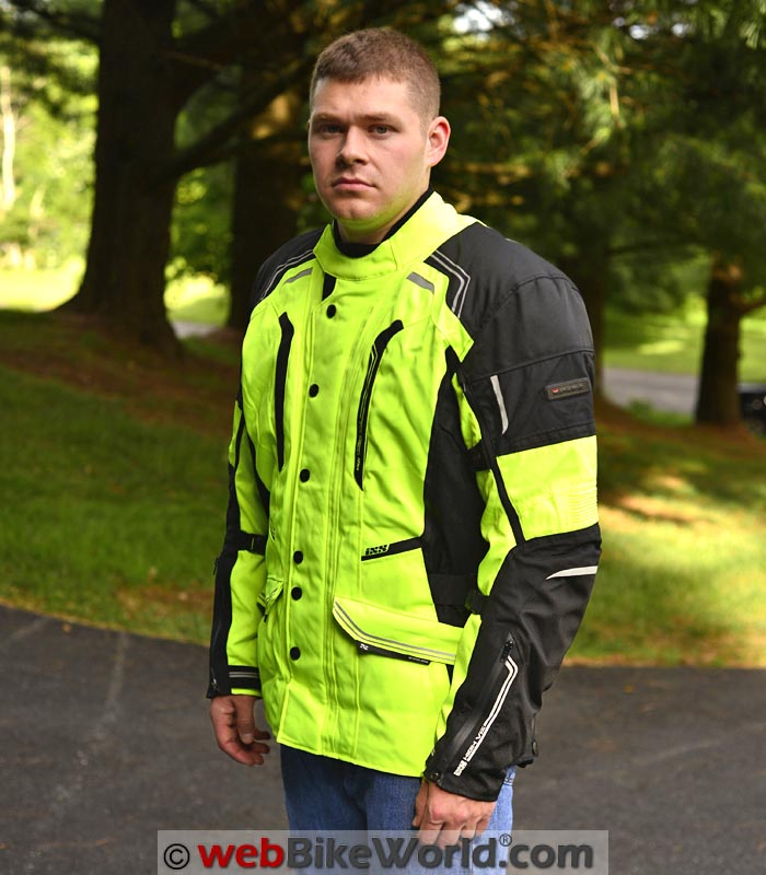 iXS Criton Jacket Front Quarter View