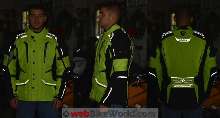 iXS Criton Jacket Reflectivity