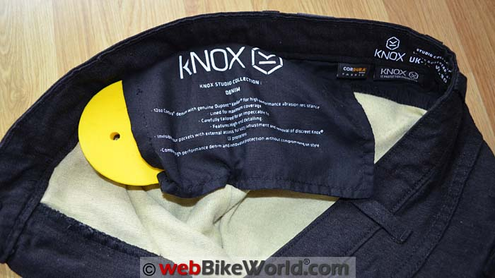 Knox Roseberry Jeans Hip Protector