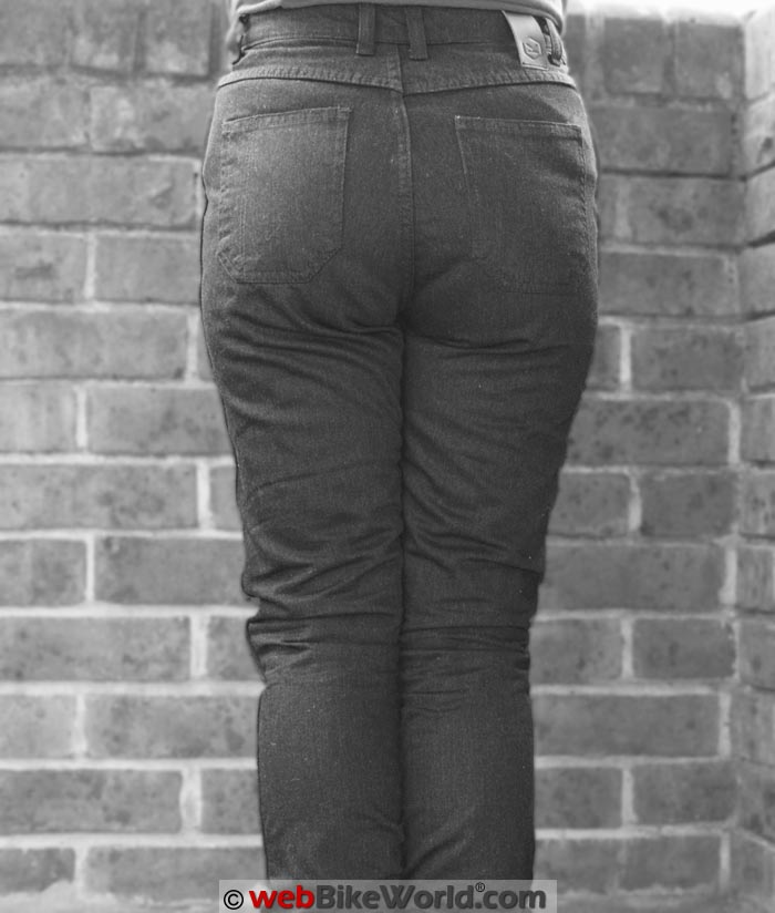Knox Roseberry Jeans Rear View