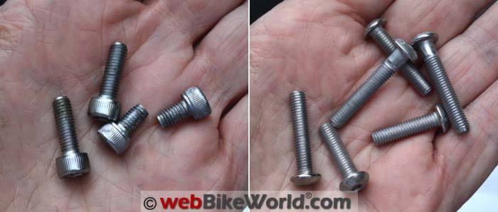 Stock Bolts vs. Tank Ring Bolts