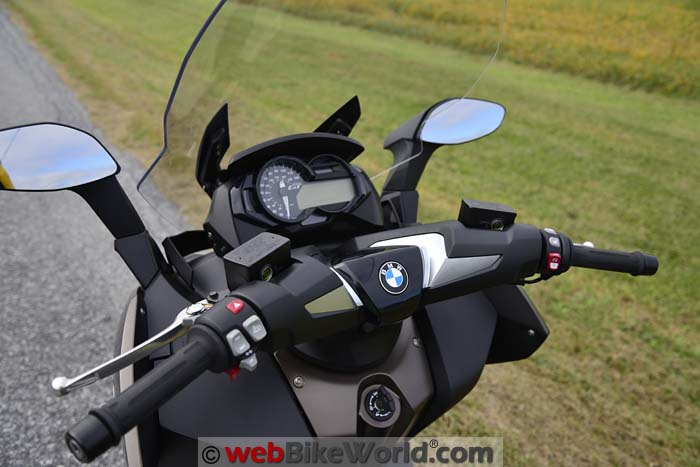 2016 BMW C 650 GT Dashboard