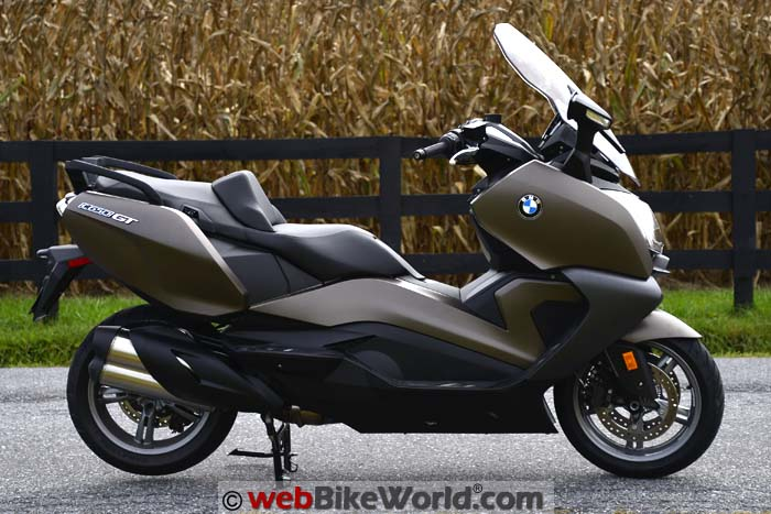 2016 BMW C 650 GT Right Side