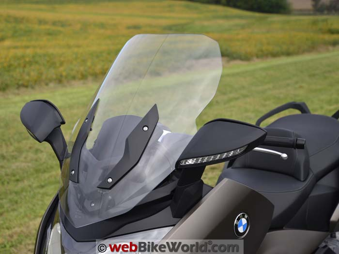 2016 BMW C 650 GT Windscreen