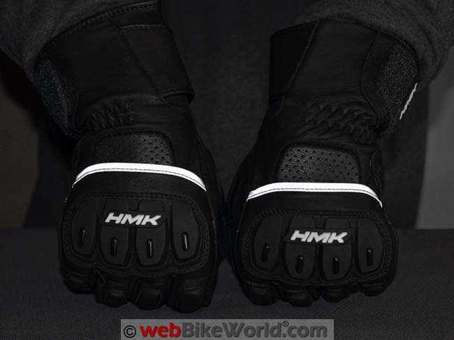 HMK Intimidator Gloves Reflectivity