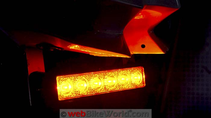 Kawell Amber LED Light Bar