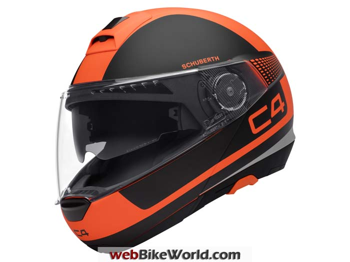 SCHUBERTH C4 in Legacy Orange