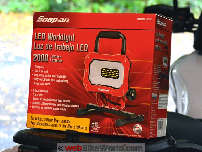 Snap-On LED Work Light Kit