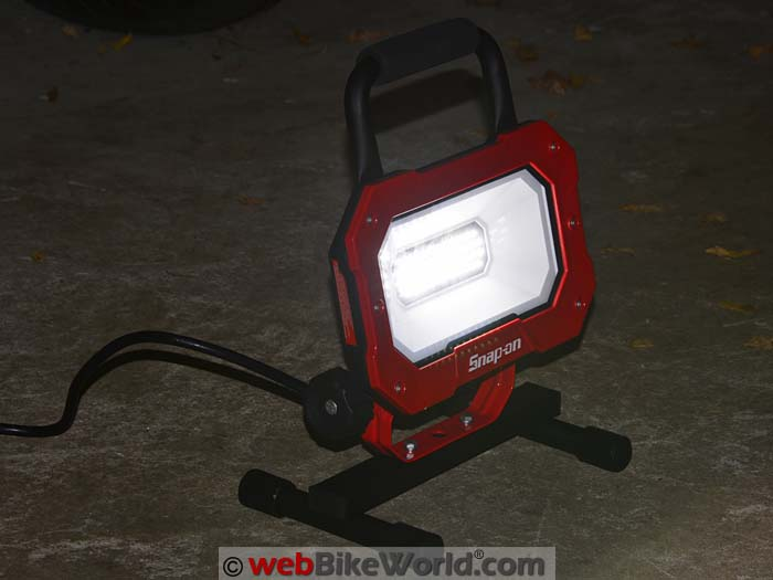 Snap-On LED Work Light On