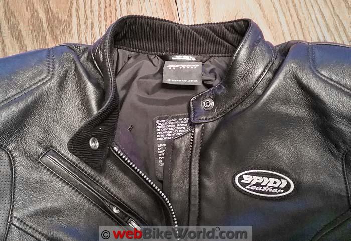 Spidi Ace Jacket Collar Close-up
