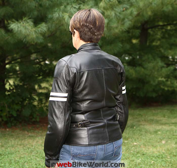 Spidi Ace Jacket Rear View