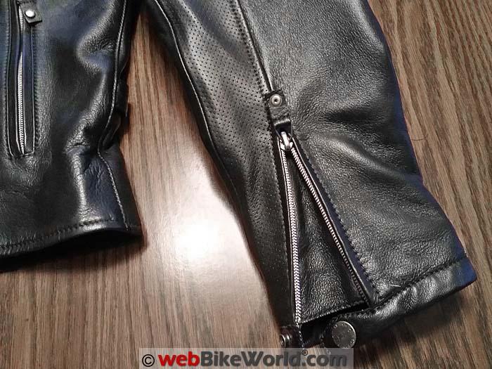 Spidi Ace Jacket Sleeve Details