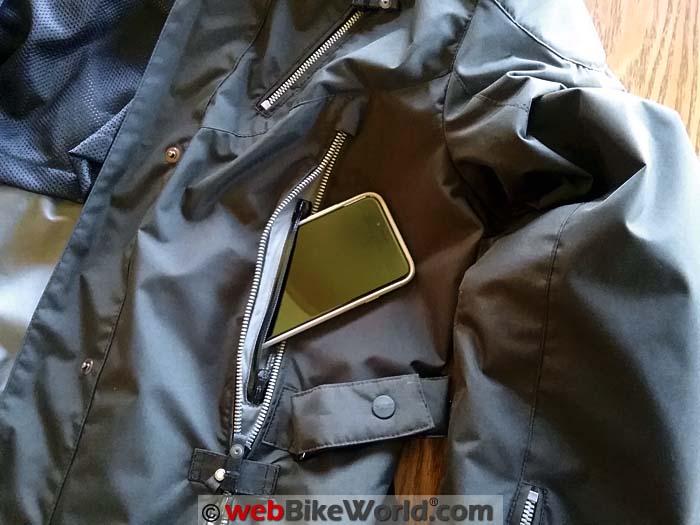 Spidi Stormy Jacket Front Pocket
