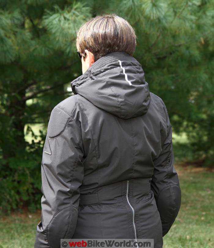 Spidi Stormy Jacket Rear View