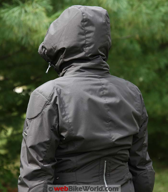 Spidi Stormy Jacket With Hood Up
