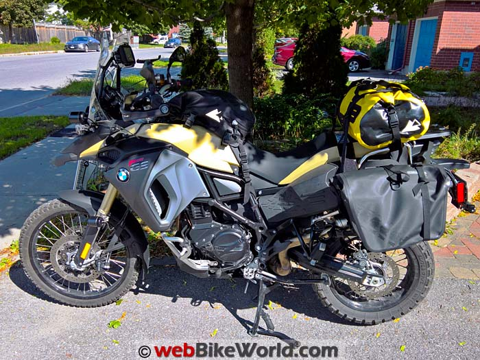 Fully Outfitted BMW F 800 GS