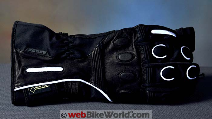 iXS Vidar Gloves Reflectivity