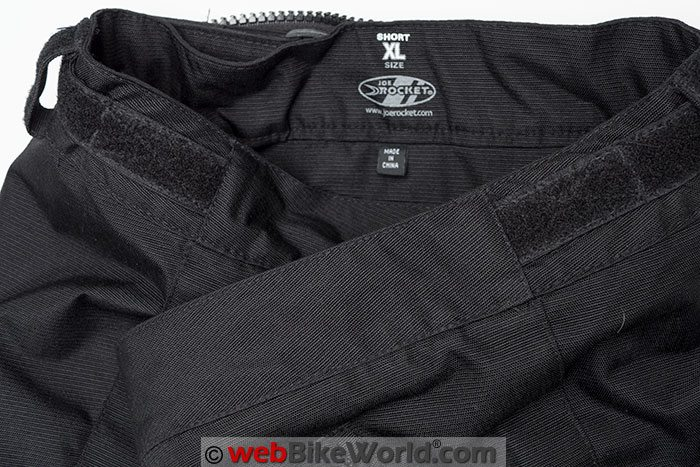 Joe Rocket Ballistic 7 Pants Inside Waist