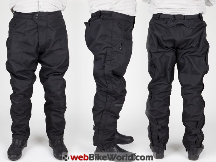 Joe Rocket Ballistic 7 Pants Three Views
