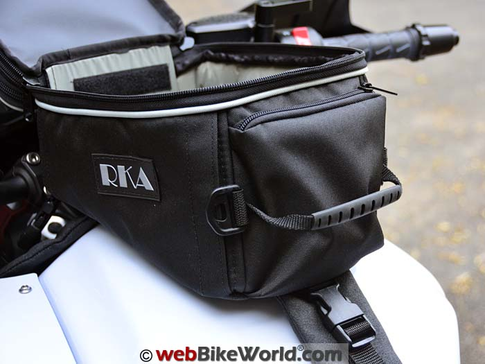 RKA Shiloh Road Tank Bag Rear Pocket