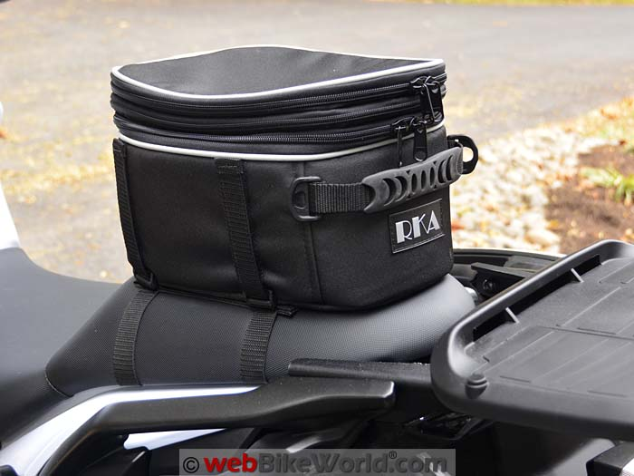 RKA Luggage Starr 2 Seat Bag Attached Left Side