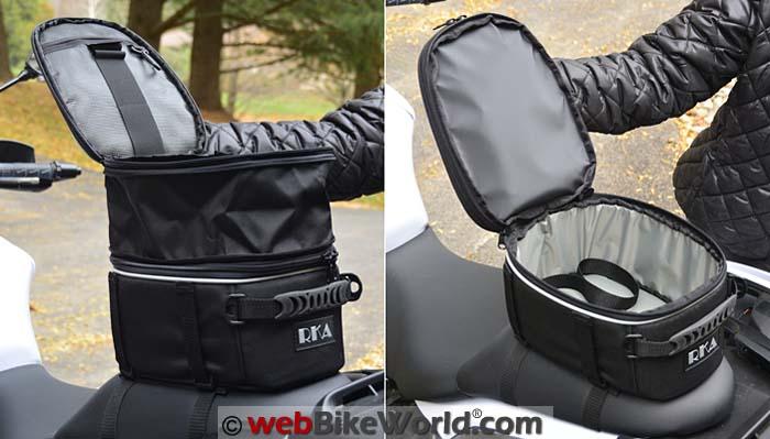 RKA Starr 2 Seat Bag Capacity