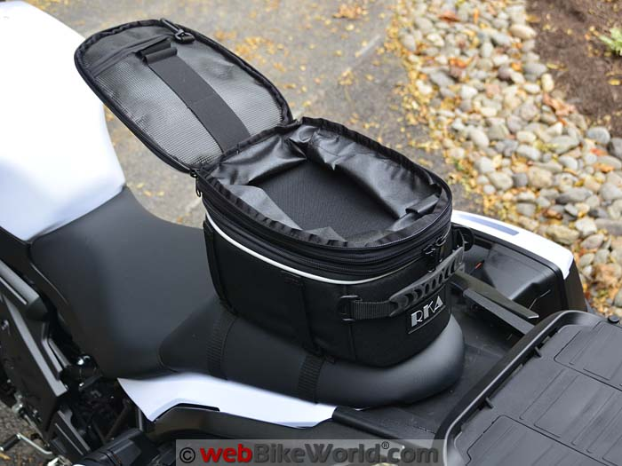 RKA Starr 2 Seat Bag Top View