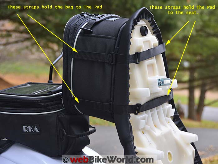 RKA Starr 2 Seat Bag Under Seat Attachment