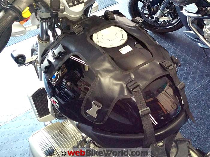 Touratech Moto Tank Bag Harness on BMW R1200R