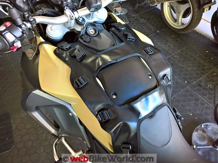 Touratech Moto Tank Bag Harness Size