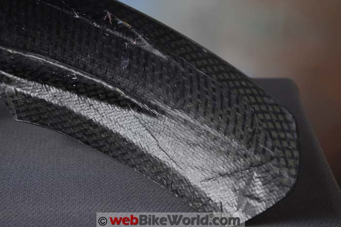 Bestem Carbon Fiber Fender Under Side