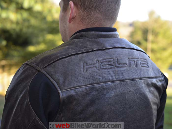 Helite Adventure Airbag Jacket Rear Shoulders