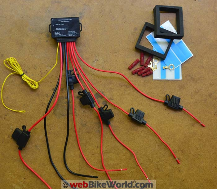 INNOVV Power Hub1 Kit Contents