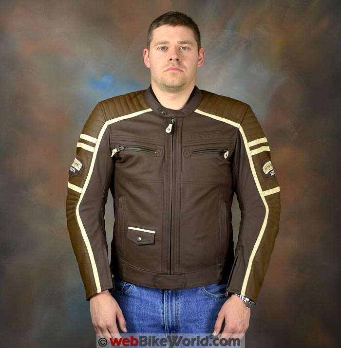 iXS Curtis Jacket Front View